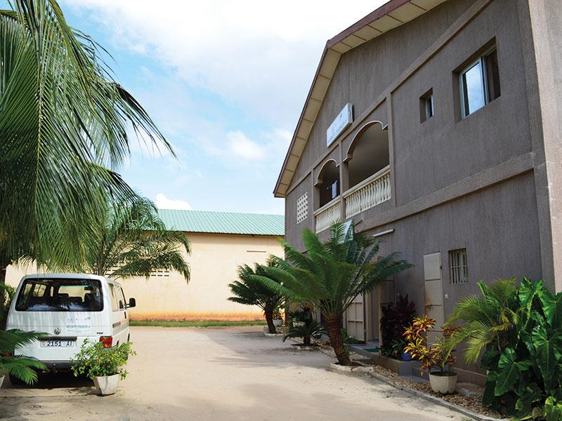 Togohaus Lomé - Eingang