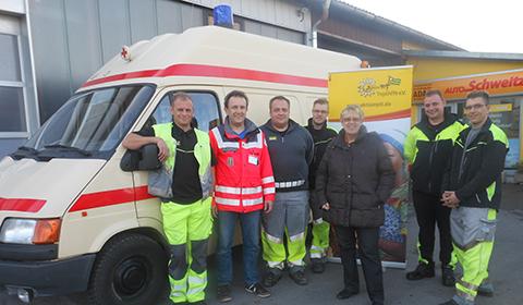 Rotes Kreuz FFB spendet Ambulanz für Togo