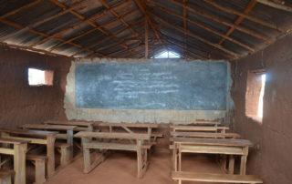 Einer der zwei Klassenräume