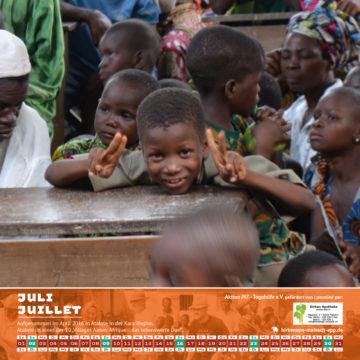 Das Titelbild des Togo-Kalenders 2017