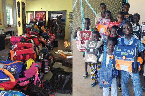 Togo-Transport - Schultaschen