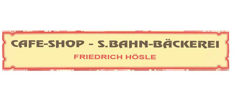 Zur Webseite von Cafe-Shop / S.Bahn-Bäckerei - Friedrich Hösle