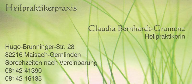 Heilpraktikerpraxis - Claudia Bernhardt-Gramenz