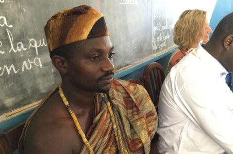 Der Dorfchef von Kouma Apoti: AYEFOU Gum VII.