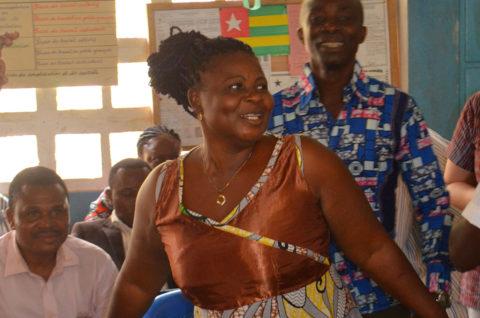 Die Frauen in Kouma-Apoti haben wichtige Funktionen
