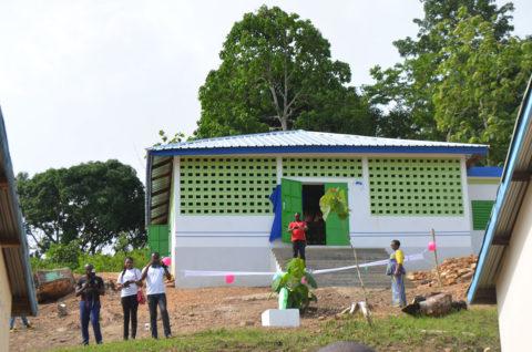 Die neue Schulkantine in Kouma Apoti, Togo