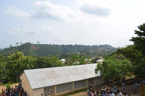 Kouma Apoti: ein toller Ausblick auf das kleine Dorf