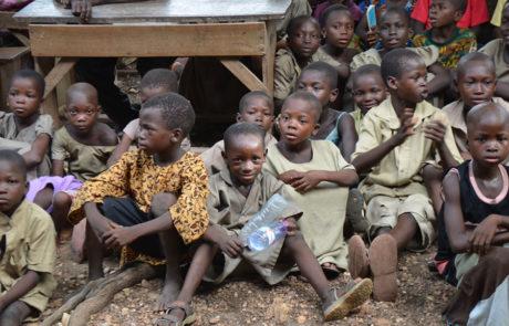 65% der Kinder haben keine Geburtsbescheinigung.