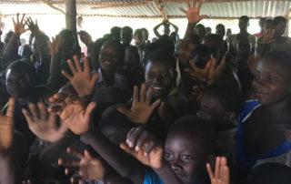 Die Kinder danken den KiSS-Spendern!
