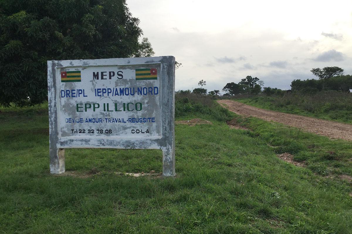 Die Schule ist dem Dorf sehr wichtig