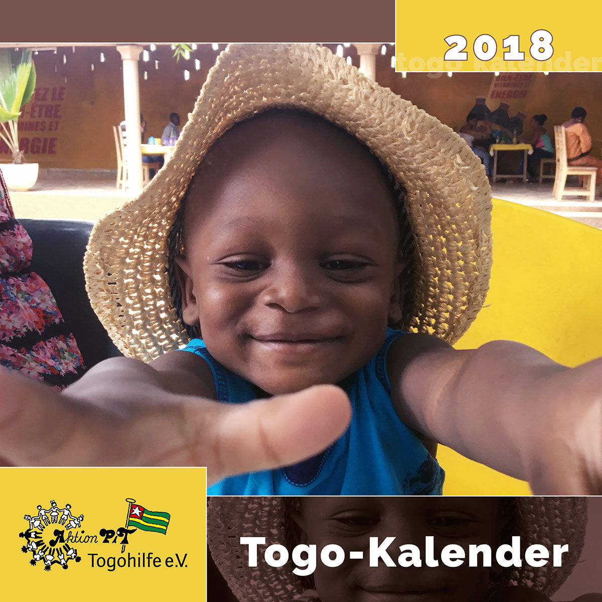 Das Titelblatt des Togo-Kalenders 2018
