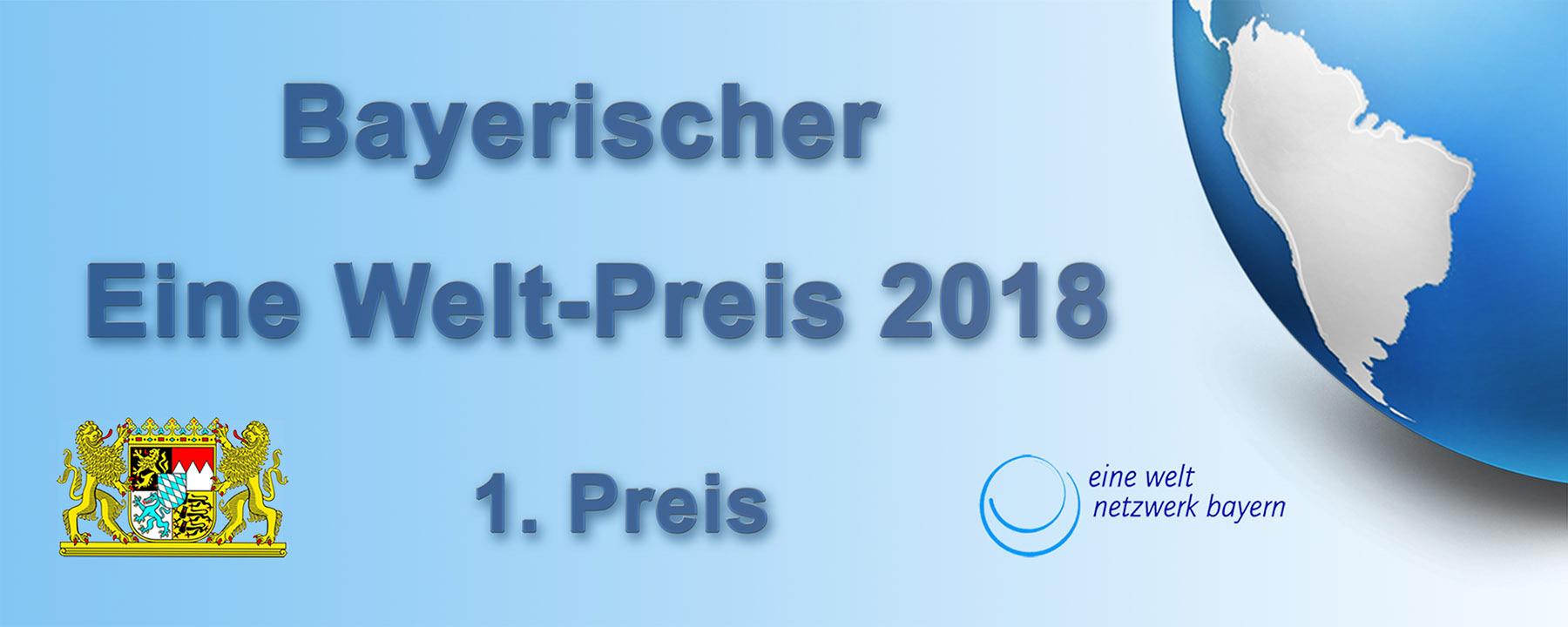 Bayerischer Eine Welt-Preis - 1. Preis