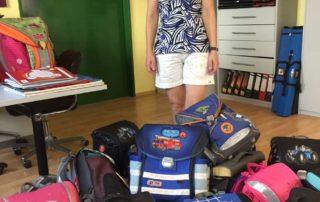 Schultauschen aus Esting für Togo