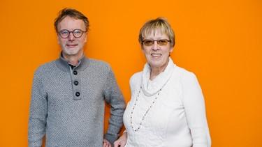 Stefan Parrisius vom Bayerischen Rundfunk und Margret Kopp von Aktion PiT