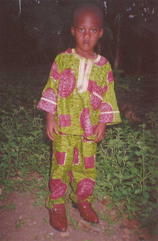 Doh Pacome aus Togo sucht Pateneltern