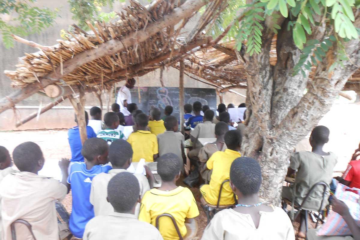 Schule in Koutandiégou