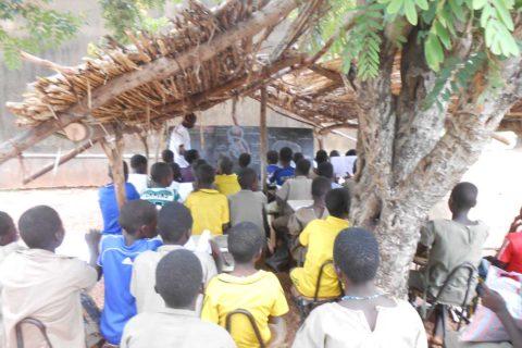 Aktuelle Unterrichtssituation in Koutandiégou