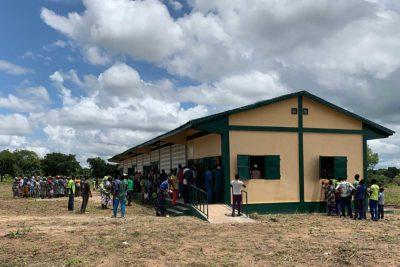Neue Schule in Konkonde