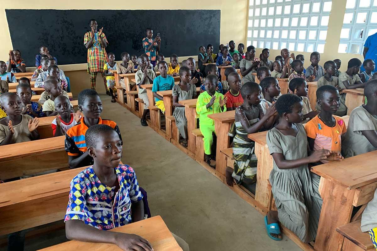 Schüler in Konkonde