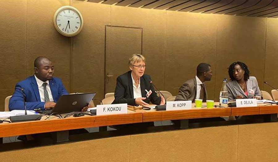 Konferenz an der UNO - Margret Kopp