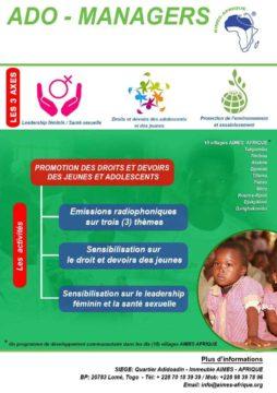 Plakat zur Förderung der Rechte und Pflichten von Kindern und Jugendlichen