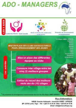 Plakat zur Gründung von soziokulturellen Vereinen