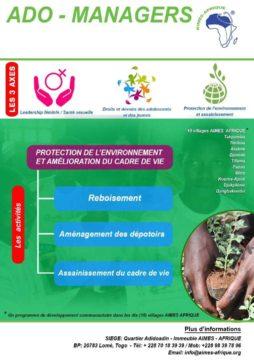 Plakat zum Umweltschutz