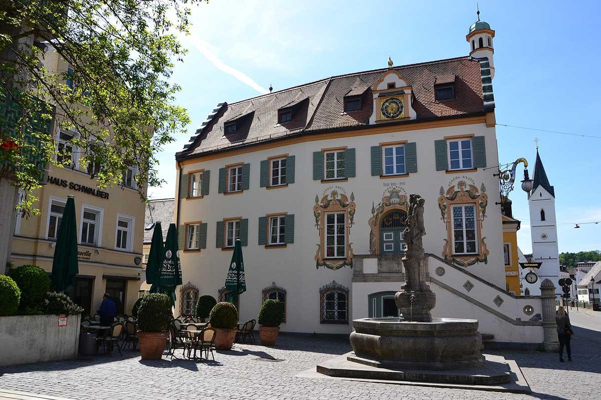 Das alte Rathaus in Fürstenfeldbruck