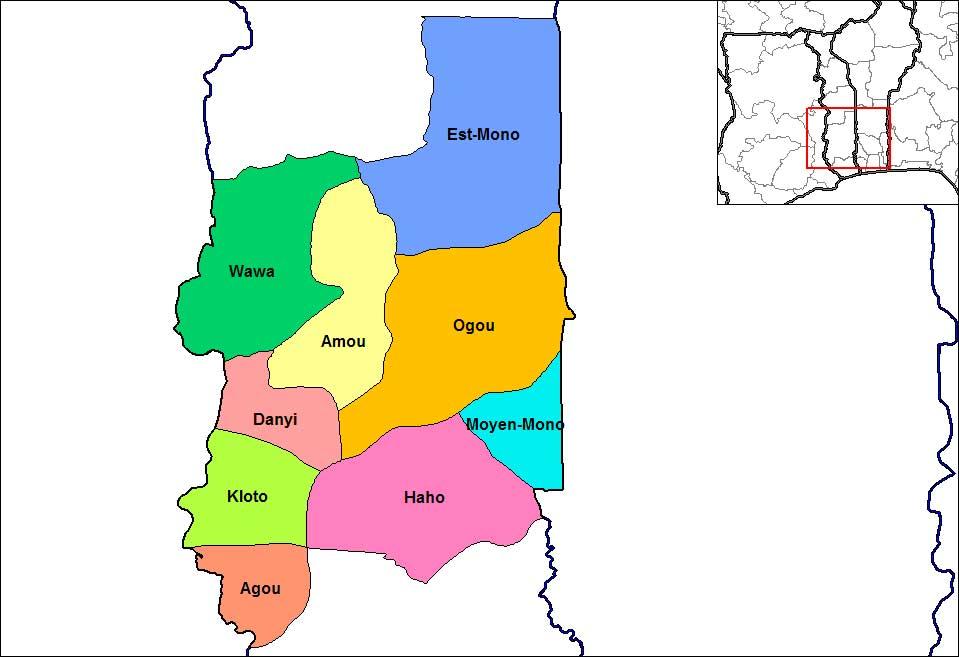 Prefektur Plateaux