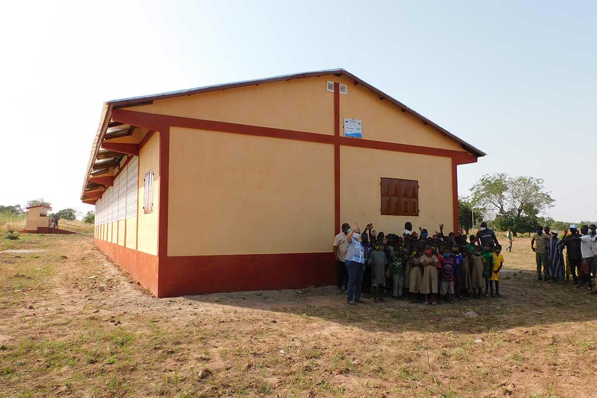 Die neue Schule in Djabagbal