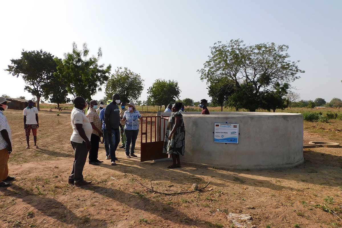 Der Brunnen in Djabagbal