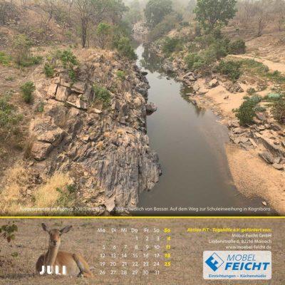 Togo-Kalender 2021 - Juli