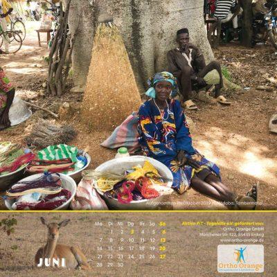 Togo-Kalender 2021 - Juni