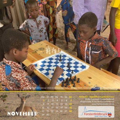 Togo-Kalender 2021 - November
