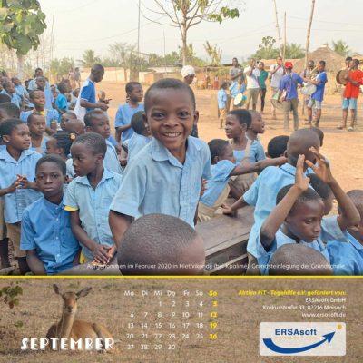 Togo-Kalender 2021 - September