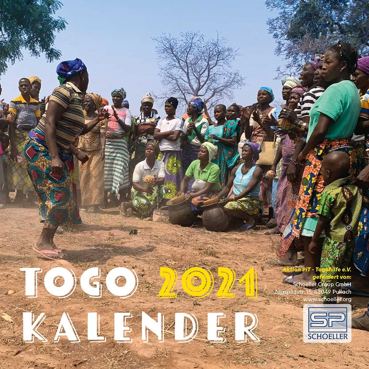 Togo-Kalender 2021 - Titel