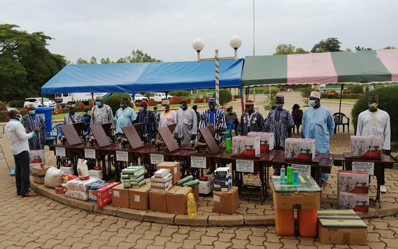 Verteilung von Schutz- und Hygienematerial in Kara
