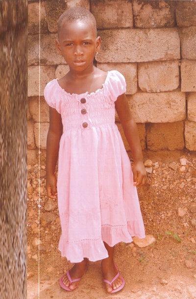 Das kleine Mädchen Adjo