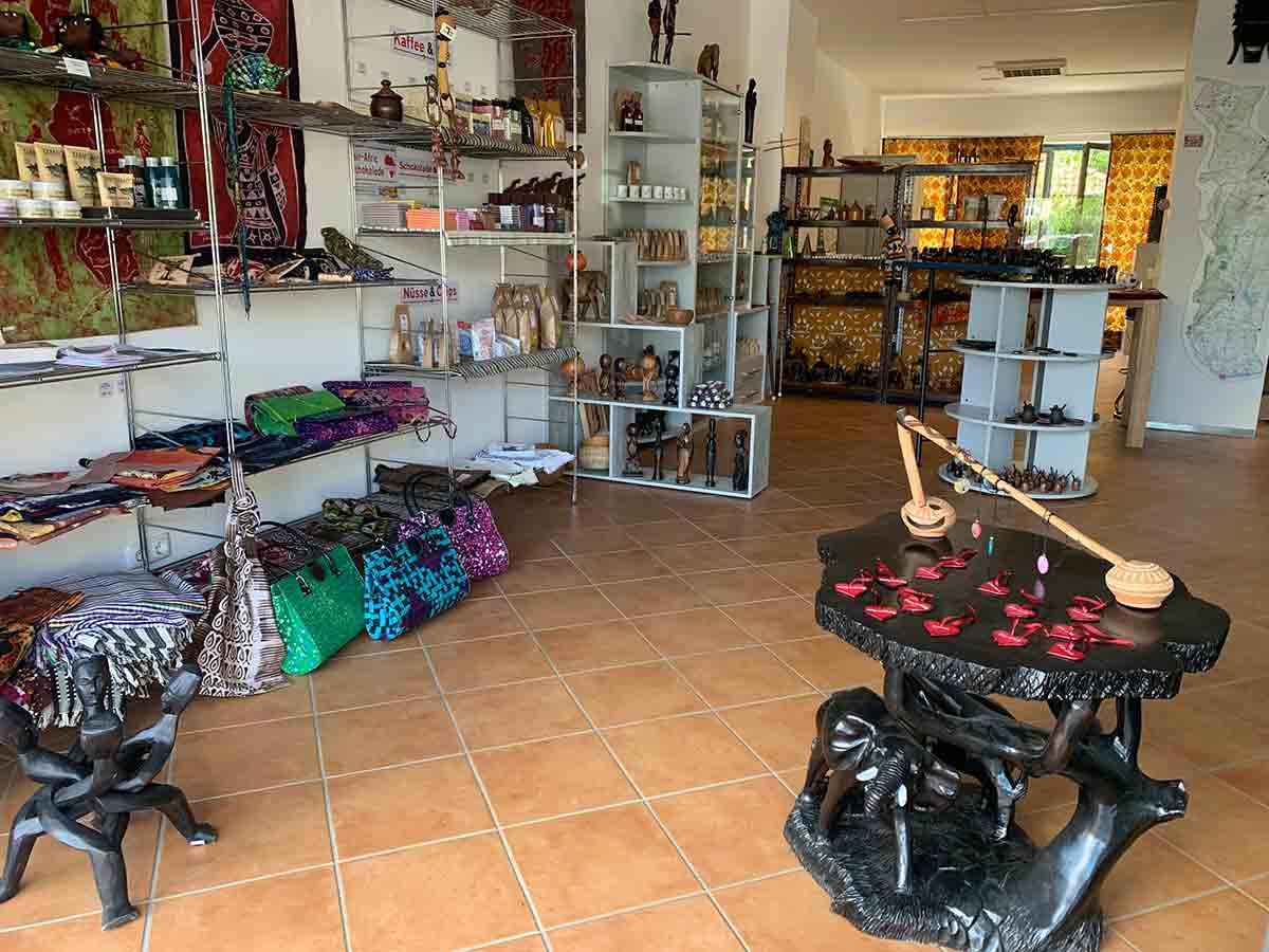 Im Afrika-Laden