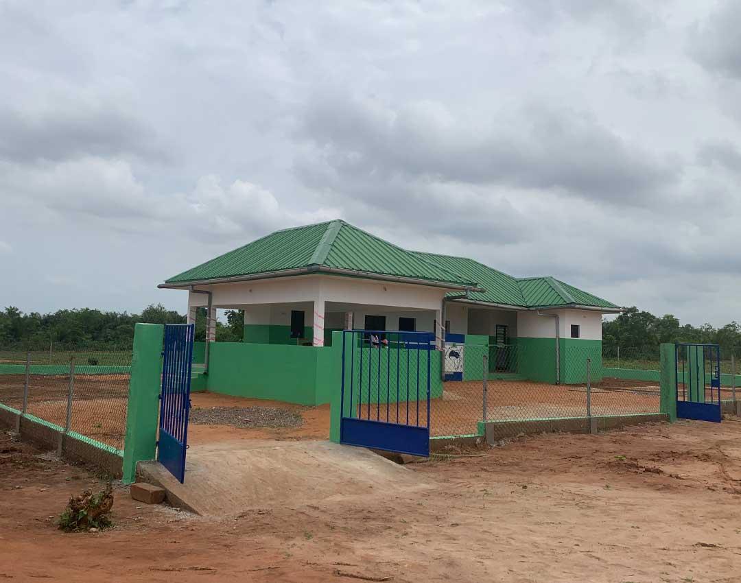 """Krankenstation """"Mohames Amsa"""" in Djakpleme"""