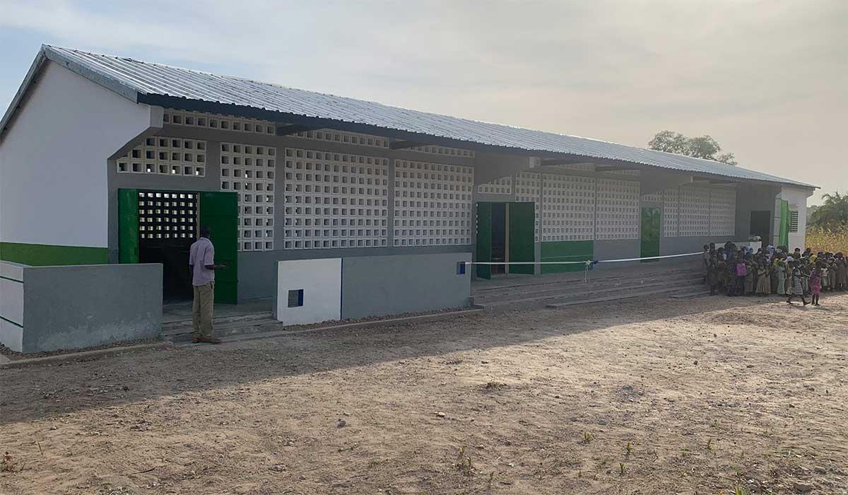 Die neue Schule in Kperike