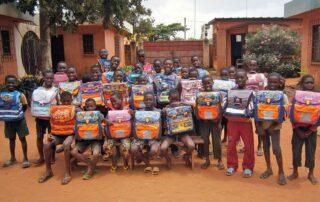 Schultaschen in Togo