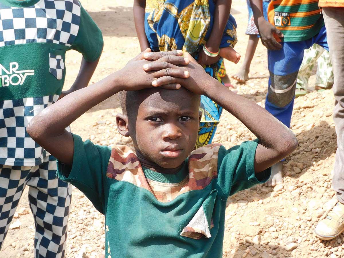 Junge in Togo