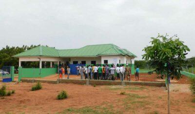 Krankenstation in Djakpleme